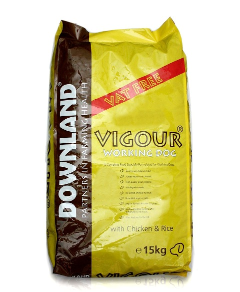 KD2200 Downland Vigour Working Dog 15kg