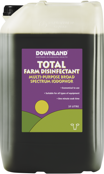 Total Farm Disinfectant 25L