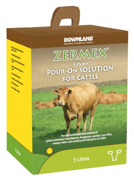 Zermex cattle Pour On 5l box V2